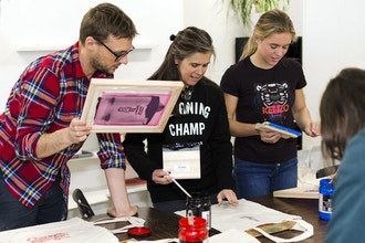 DIY Silkscreen Printing Workshop