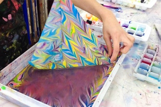 Large Format Marbling (One Day Class)