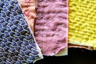 After Workshop: Sashiko Mending