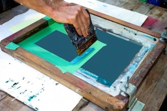 Screen Printing 101 (Weekend Intensive)