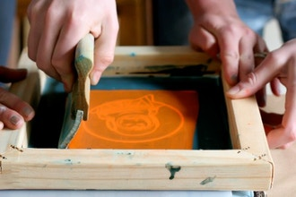 Screen Printing with Procion Dyes