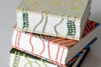 After Workshop: Coptic Book Binding