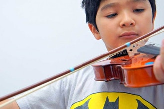 30 mins Private Violin Lesson (4years and older)