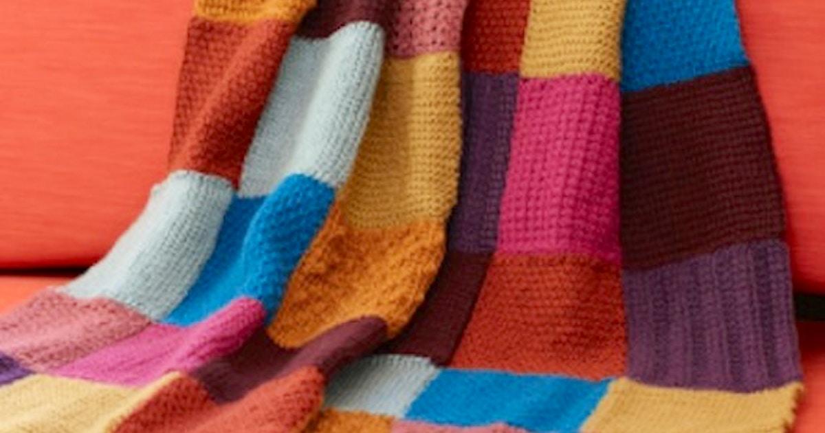Tunisian Crochet Entrelac Crochet Classes New York Coursehorse