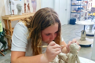 Clay Sculpture for Kids (Ages 5-12)
