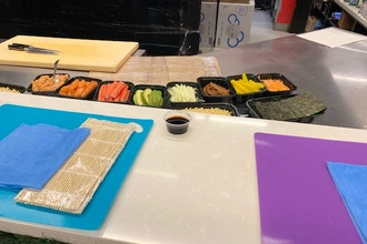 Sushi Making (with Sake)