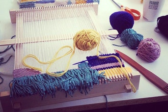 Mini Loom Weaving