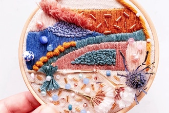 Intro to Modern Embroidery With Meg Rosko