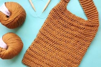 Knitting 102: Market Tote