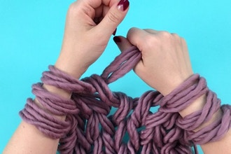 Virtual Workshop: Arm Knitting