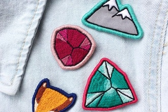 DIY Embroidered Patch