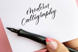 Modern Calligraphy - Calligraphy & Hand Lettering Classes New York |  CourseHorse - Brooklyn Craft Company