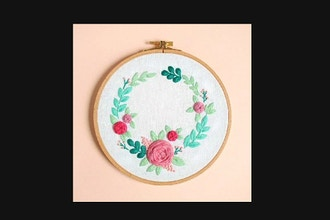 Virtual Workshop: Floral Embroidery