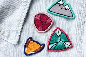 Virtual Workshop: DIY Embroidered Patch