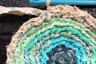 Virtual Workshop: Upcycled Rag Rug