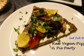 Raw Vegan Pizza and Pie Party