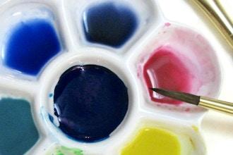 Weekend Intensive Watercolor beginner workshop