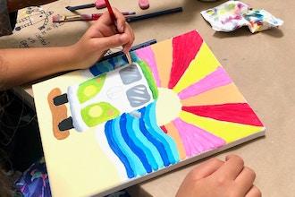 California Dreamin Virtual Art Camp Kids Art Classes Los Angeles Coursehorse Viridian Art Academy