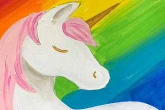 Rainbows & Unicorns Virtual Art Camp