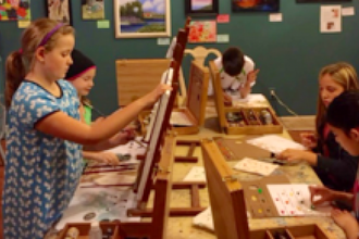 Painting with Oils (Ages 8 - 16 yrs)