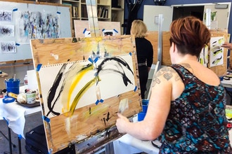 Ignite Your Wild Creativity: Creating Abstract Painting