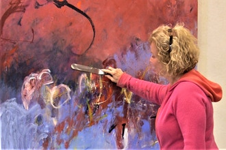 Get Wild! Make Your Mark! 2 Day Abstract Art Workshop