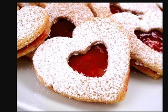 Master Chefs Club: Heart Shaped Linzer Cookies