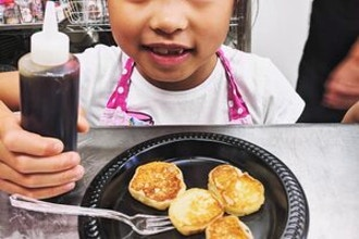 Kids: Blueberry Pancakes