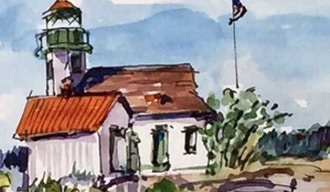 Field Sketching In Watercolor And Ink Watercolor Classes Seattle