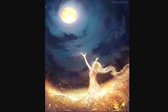 Full Harvest Moon: Opening Up to Opportunity