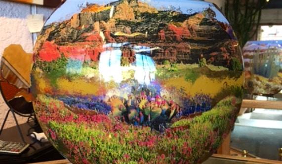 Art Under Glass