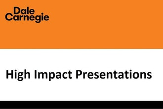 high impact presentations presentation training new york