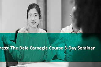 Strictly Business: The Dale Carnegie Immersion Seminar