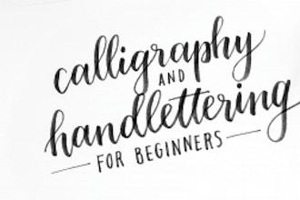 Brush Calligraphy & Hand Lettering (Beginners 1)