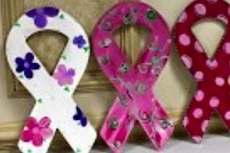 Beautiful Boards Ribbon & Hope Home Decor Hangers
