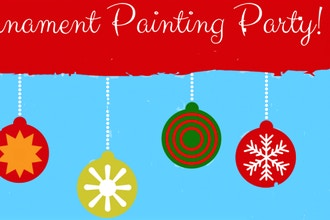 Kids Night Out:Happy Holidays Ornament Paint