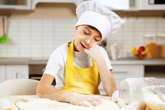 Teens in the Kitchen: Spring Baking