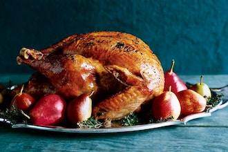 Thanksgiving with a Julia Child Roast Turkey