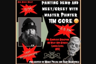 Painting with Tim Gore Meet & Greet