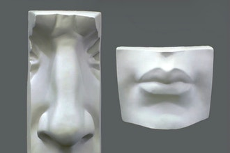 Sculpting Facial Features: Mouth and Nose