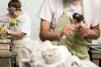 Stone Carving w/ Ailene Fields