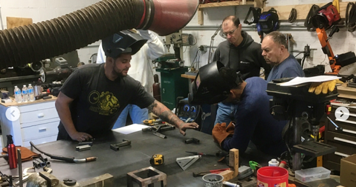 Welding 101: Intro to MIG - Welding Classes New York | CourseHorse - Make Everything Workshop intro to welding class boise