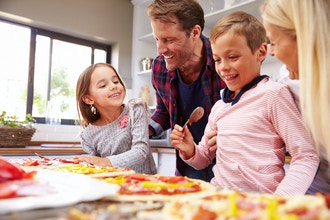 Mommy/Daddy & Me: Cookie & Pizza Making