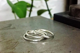 Silver Stacked Ring Workshop