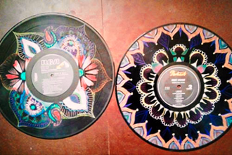 Mandalas on Vinyl Records