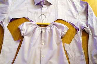 Make Daddy's Shirt Into Baby Clothes Workshop