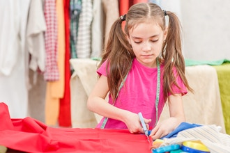 Kids Fashion Sewing Camp (East Hampton)