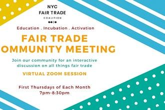 Virtual Fair Trade Community Meeting