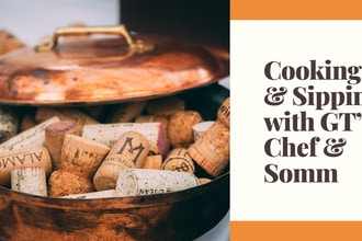 Cooking & Sipping with Chef & Somm - Brunch for Dinner