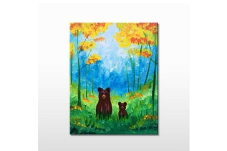 "Paint & Sip - ""Forrest Grizzlies"" (All Ages)"